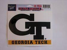 """Georgia Tech Yellow Jackets 5""""x6"""" Decal  IN STOCK!!"""