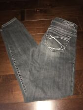 Womens Silver Jeans Aiko Skinny Size 25