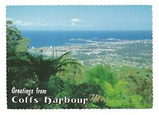 NSW - c1970s POSTCARD - VIEW FROM SEALY LOOKOUT, BRUXNER PARK, COFFS HARBOUR