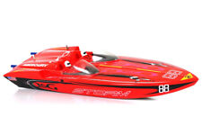 Vantex Fiberglass Electric RTR RC Brushless Speed Boat Mercury Storm 2.4Ghz
