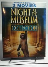 Night at the Museum Collection(Blu-ray Disc,2017)Discs not used-Only code taken