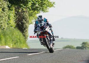 Michael Dunlop 2018 Isle of Man TT Superbike   A4 Photo