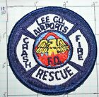 """FLORIDA, LEE COUNTY AIRPORTS CRASH RESCUE FIRE DEPT 3"""" PATCH"""