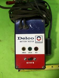 Vintage Delco Battery Tester