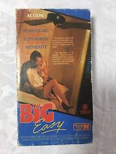 Vhs *THE BIG EASY* 1986 Mega Rare Australian 7 Keys Original Carton - 1st Issue!