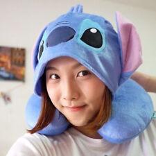 Disney Lilo & Stitch Plush Doll Toys Travel Neck Rest Pillow Cushion U Shape