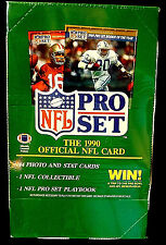 Pro Set 1990 Series 1 NFL Football l Trading Card Box New Factory Sealed