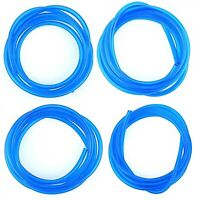20 Feet Petrol Fuel Line Hose Lubricant 4 Size Tubing For Weedeater Chainsaw