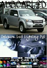 Ford Ranger XL XLT 2011+  Double/Crew Cab Super Bright WH LED Interior Light Kit