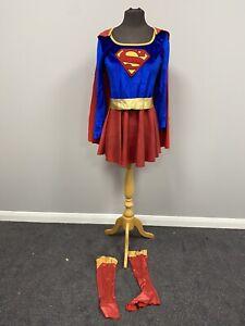 Super woman Super Girl Dress & Accessories XS Cosplay Fancy Dress Costume