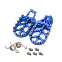 CNC Motorcycle Foot Pegs Footrests Footpeg Pedals for Husqvarna TC TE FE TX FX