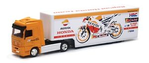New Ray 1:43 Repsol Honda MotoGP team Truck Toy Model Moto Gp Lorry