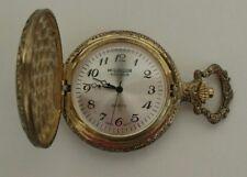 McGregor Hunt Club Quartz Pocket Watch with Train Picture