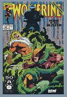 Wolverine #46 1991 Lady Deathstrike Sabretooth Larry Hama Marc Silverstri Marvel