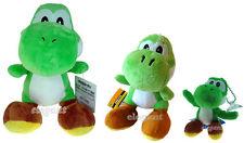 Nintendo Super Mario Brothers Bros 3 Green Yoshi Stuffed Toy Soft Plush Doll Set
