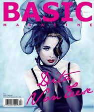 BASIC Magazine Dita Von Teese NEW