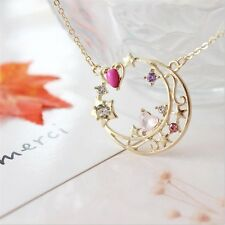 Sailor Moon 25th Anniversary Neptune Gold Plated Necklace Cosplay Anime Pendants