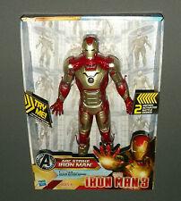 "ARC Strike Iron Man 3 Action Figure w 2 Battle Modes Lights & Sounds 10"" NEW"