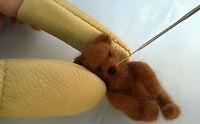 Leather Needle Felting Finger Protectors / Guards (Pair) - Needle Felting