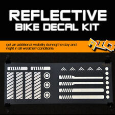 CUSTOM REFLECTIVE BIKE DECAL - NIGHT SAFETY BICYCLE KIT