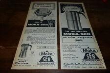 MOKA SEB - CAFE SUR MESURE - Publicité de presse / Press advert !!! 1962 !!!