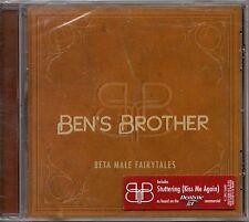 "BEN'S BROTHER ""META MALE FAIRYTALES"" CD 2007 relentless virgin sealed c"