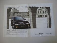 advertising Pubblicità 1994 LANCIA DELTA TURBO DS