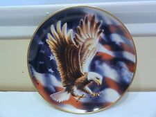 "Franklin Mint "" The American Eagle "" Collector Plate"