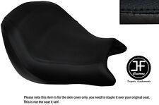 Vinilo negro automotriz Personalizado se ajusta a Honda VTX 1800 02-04 frente cubierta de asiento solamente