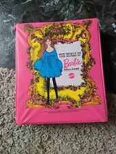 Vintage 1968 The World Of Barbie Pink Carrying Case No 1002 excellent condition