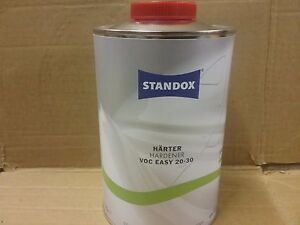 Standox  2K VOC Easy Hardener  20-30  1 litre  Standocryl Standard Activator