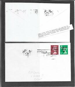 """STAMPS: IRELAND 1980s """" COVER WITH OVERPRINTS """"  (G/USED)"""