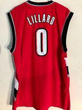 Adidas NBA Jersey Portland Trailblazers Damian Lillard Red sz M