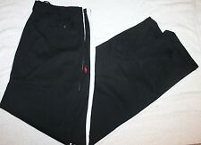 POLO RALPH LAUREN BIG and TALL Mens BLACK ATHLETIC TRACK PANTS NWT $125 XLT