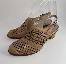 Spring Step Beige Miradoux Slip On Shoes, Women's Sz 36/US 5.5-6