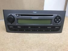 Fiat Grande Punto Grey Cd Radio Cd Mp3 Player Car Stereo Radio With Code