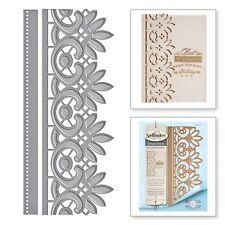 Spellbinders Card Creator Dies -Graceful Floral Lace