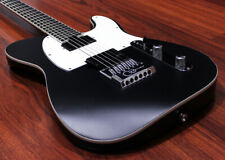 Halo Guitars Salvus 6 String Baritone Fishman Fluence Evertune Bridge Black