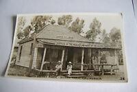 Rare Vintage RPPC Real Photo Postcard B1 New York Knott's Berry Judge Bean Ghost