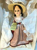 """Effanbee 15"""" Grandes Dames Collection Doll Brunette Coco 1983 with Box and Hat"""