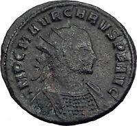 CARUS 283AD Ticinum Genuine Original Authentic Ancient Roman Coin  i64785