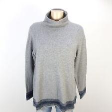 ESPRIT Pullover Strick Knit Grau Blau Gr. XL 42 (AB209)