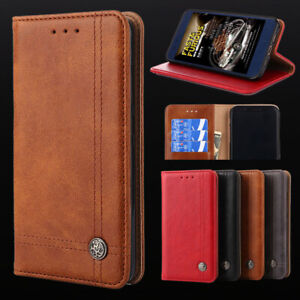 Leather Flip Wallet Case Cover For OPPO Find X2 Pro Lite Neo X3 Reno5 5G