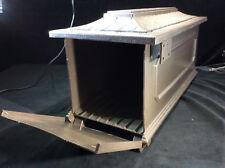 Bronze Color Cast Aluminum Replacement Mailbox Shell