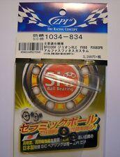 ZPI BOUSEI SiC Ball Bearings 3x10x4 / 3x8x4 mm - ABU, Daiwa, Shimano
