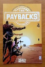 Paybacks 4 Cover A One of Donny Cates 1st Works 1st Print Heavy Metal 2016 NM+