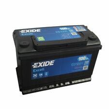 EXIDE EB1000 BATTERIA AUTO EXCELL 100AH 720EN POSITIVO DX 12V 315 x 175 x 190