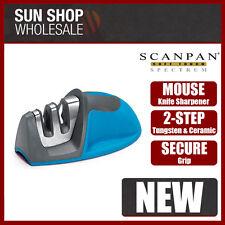 100% Genuine! Scanpan Soft Touch Spectrum Mouse Knife Sharpener Blue!