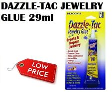 Stone Glass Jewellery & Beads Glue DAZZLE-TAC 29 ml Quick Grab For Strong Glass