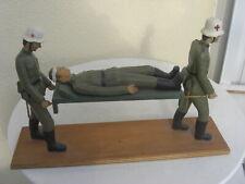 Sanitäter Holz geschnitzt   Wehrmacht   2.  Weltkrieg